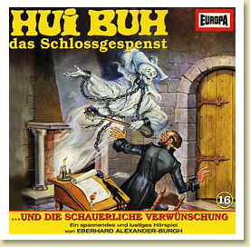 Hui-Buh - CD-Cover (Europa)